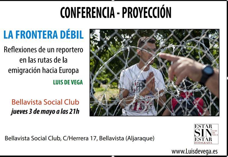 "Conferencia ""La Frontera Débil"""