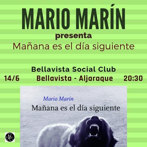 Mario Marin, presentación Libro