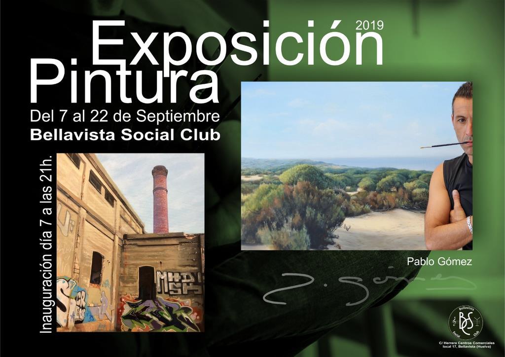 Exposición Pintor Pablo Gomez
