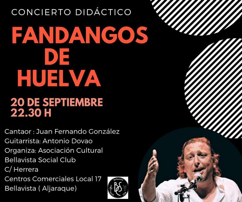 Concierto Fandangos de Huelva